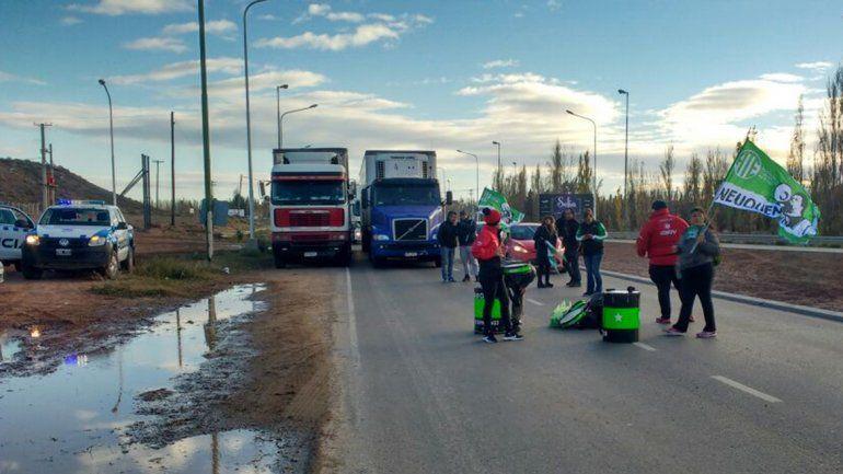Trabajadores del SIEN liberaron el corte de la Ruta 7