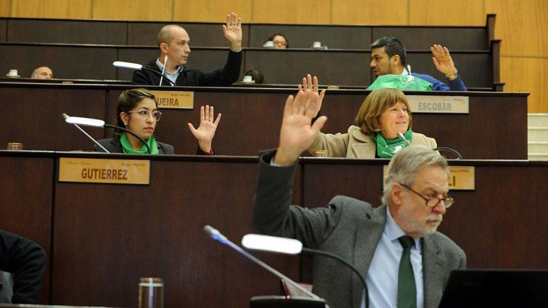 El proyecto de comunicación fue aprobado con 19 votos a favor.