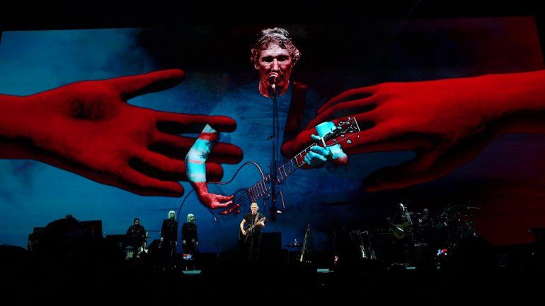 Roger Waters apoyó a Messi