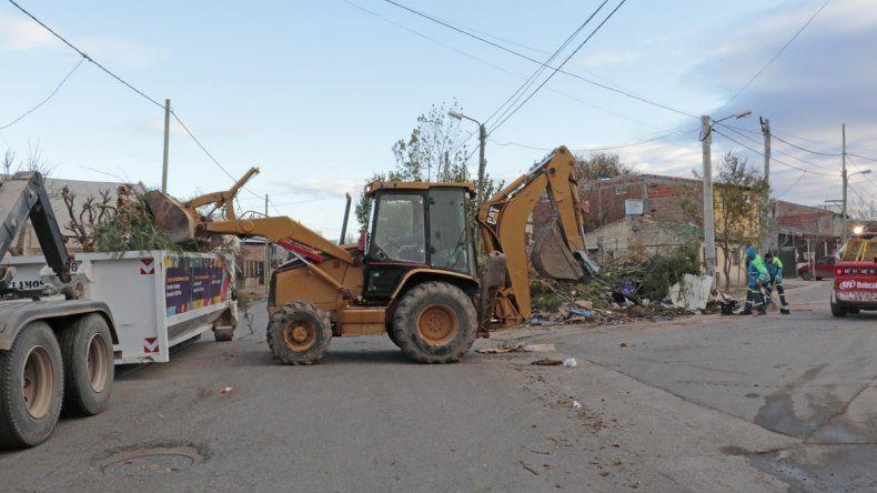 Puerta a puerta: el operativo llegó al barrio El Progreso