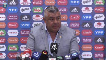 Tapia dijo cuándo confirmará al entrenador de la Selección