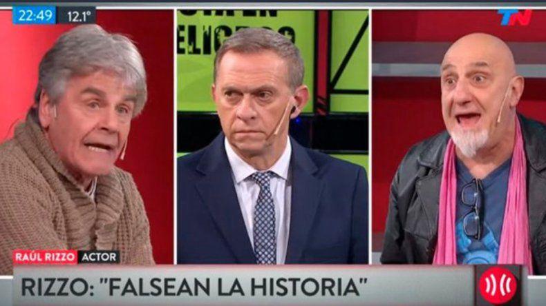 El violento cruce entre Raúl Rizzo y Juan Acosta