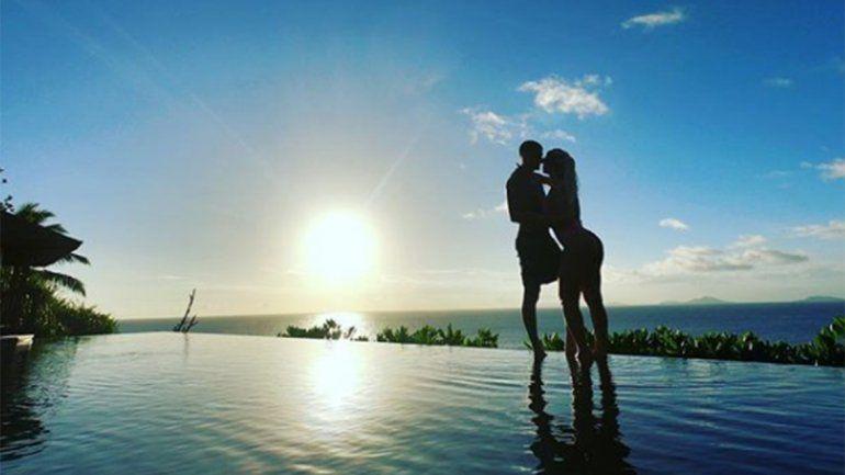 Las paradisíacas vacaciones de Mauro Icardi y Wanda Nara