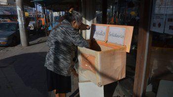 la iniciativa de tejido solidario ya funciona en el bajo