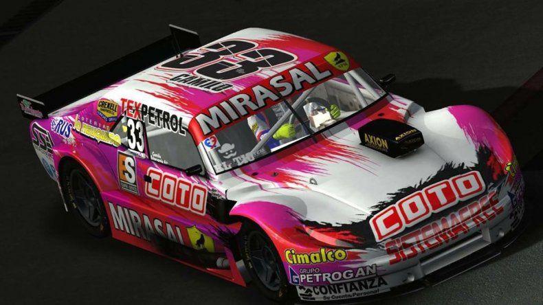 El auto de Camilo presentaráun renovado diseño.