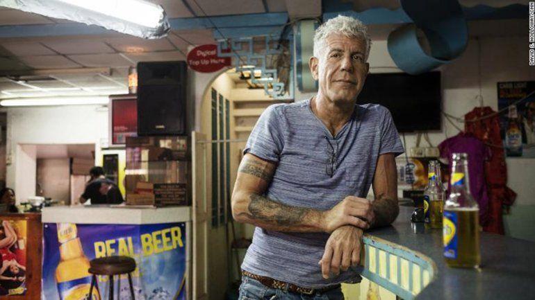 Encontraron muerto a Anthony Bourdain, el chef estrella de la televisión de EE.UU.