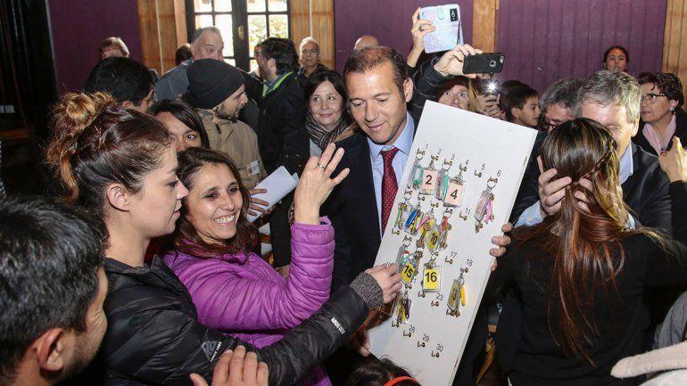 Gutiérrez entregó 22 viviendas en San Martín de los Andes