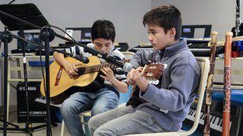san martin celebro la apertura de su nueva escuela de musica
