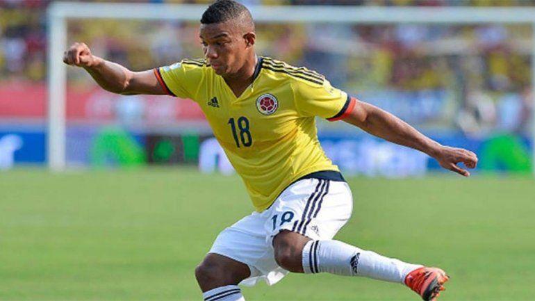 Se lesionó el colombiano Fabra y se quedó sin Mundial