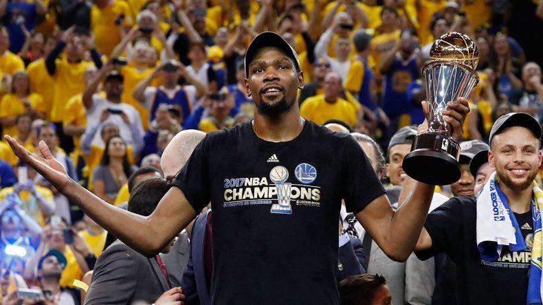 Durant, la figura de la final, ¿se va de Golden State?