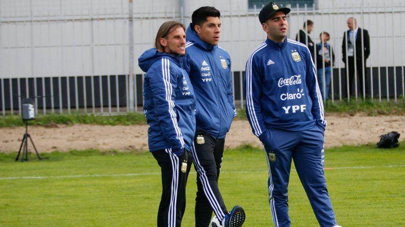 Enzo Pérez pisó tierras rusas y ya se sumó a los entrenamientos