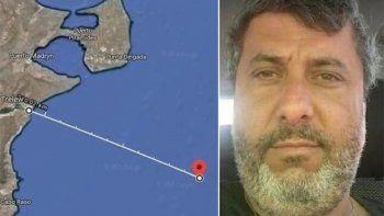 la armada confirmo que el cuerpo hallado es del capitan