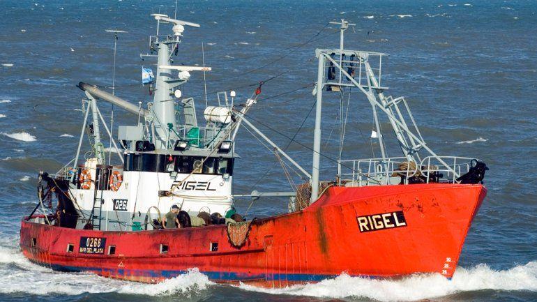 Salvador Taliercio era el capitán del pesquero que desapareció frente a las costas de Chubut.