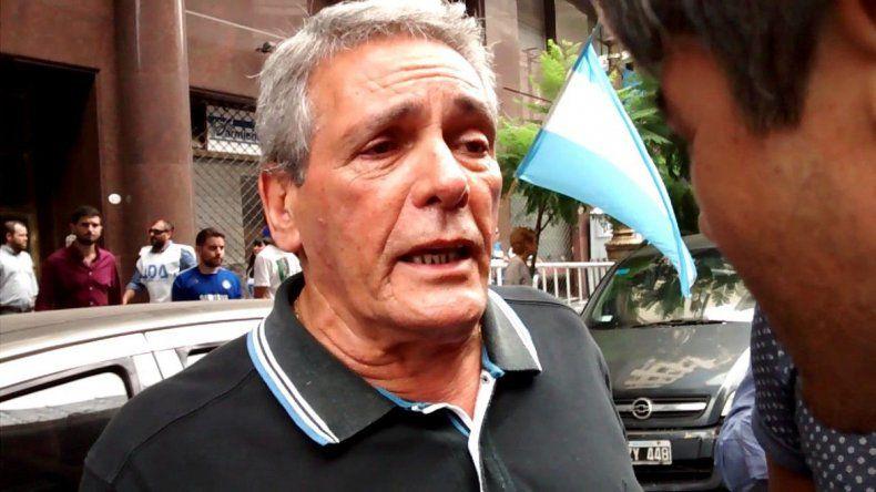 Acuña hizo hincapié en los cinco puntos exigidos al Gobierno.