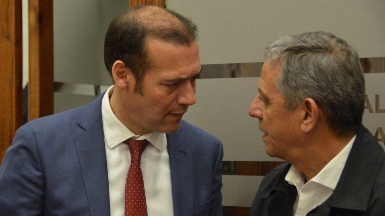 Irónico, Gutiérrez invitó a Quiroga a afiliarse al MPN