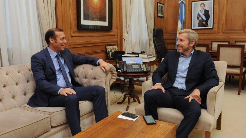 Gutiérrez y Frigerio realizaron un repaso por las obras en la Provincia