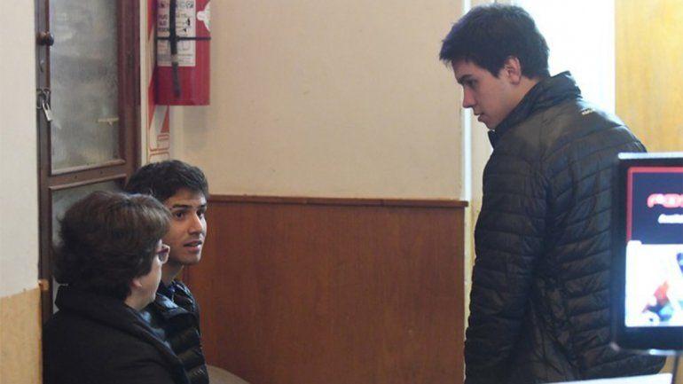 <p>Segunda semana de audiencias en el juicio a Nahir Galarza por homicidio de Fernando Pastorizzo. Los testigos Rafael Distefano y Joaquín Osorio. (José Almeida)</p>