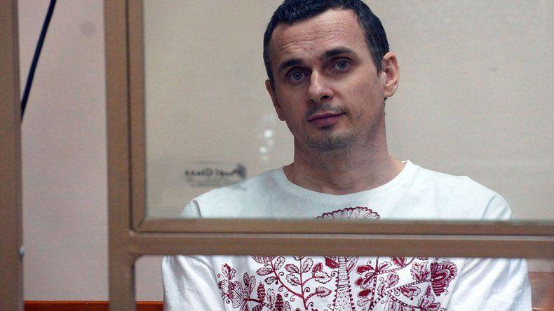 El preso pide que Moscú libere a los prisioneros políticos ucranianos.