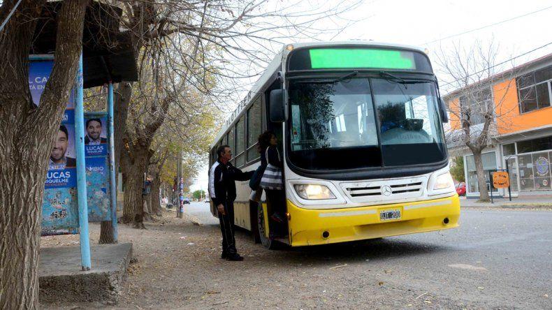 Por las vacaciones de invierno, Autobuses redujo sus frecuencias