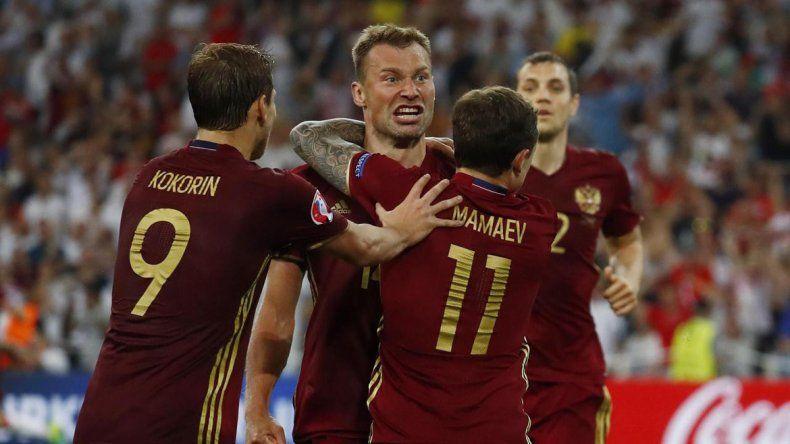 La selección de Rusia no gana desde junio del año pasado.