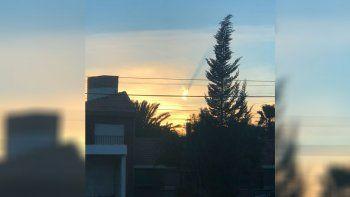 Misterio en el Valle: ¿qué fue el estruendoso destello que atravesó el cielo esta mañana?