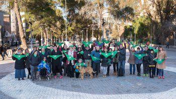 Hubo pañuelazos en Neuquén en la previa del debate por el aborto