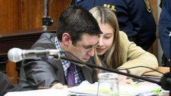 Dos semanas después del crimen, Correa contó su primera versión del hecho. Siempre favoreció a Nahir.