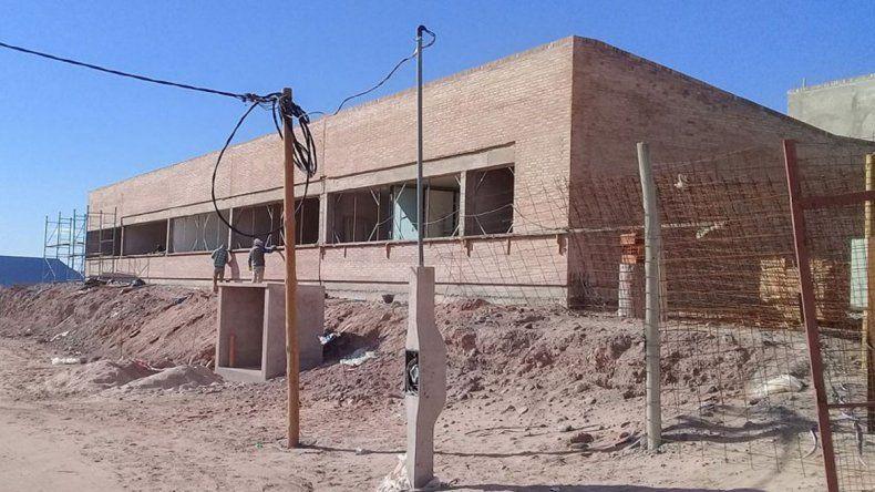 La escuela primaria se construye en el barrio Rincón de Luz.