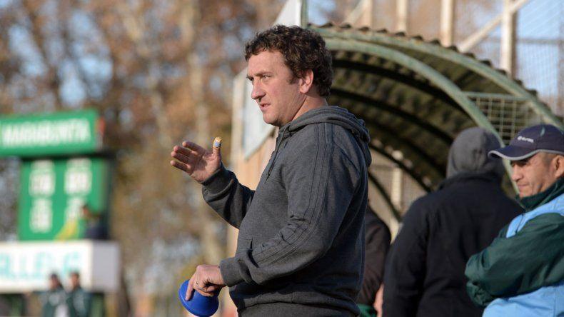 El entrenador verde destacó el nivel de juego de su equipo.