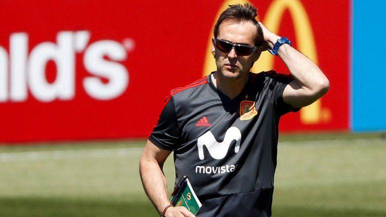 Lopetegui dirigirá Real Madrid cuando acabe el Mundial.