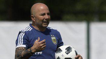 sampaoli aparecio tras el mundial: cada partido era un sufrimiento