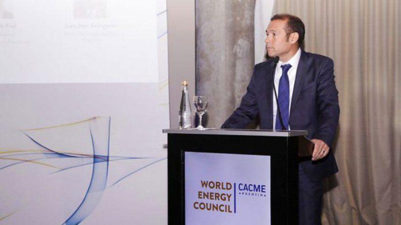 Gutiérrez destacó el potencial de Vaca Muerta en el Foro Latinoamericano de Energía