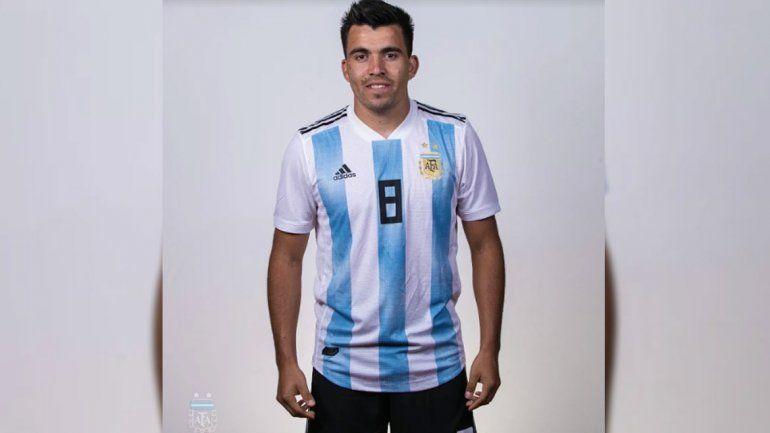 La AFA mostró las fotos oficiales de los futbolistas.