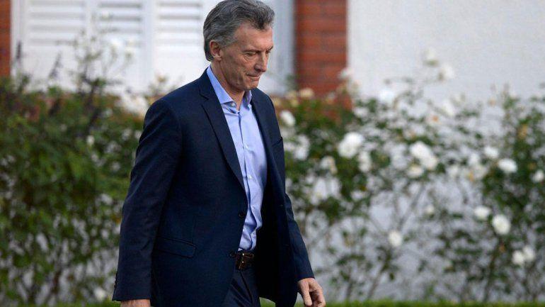 A Macri le detectaron un quiste pancreático de carácter benigno