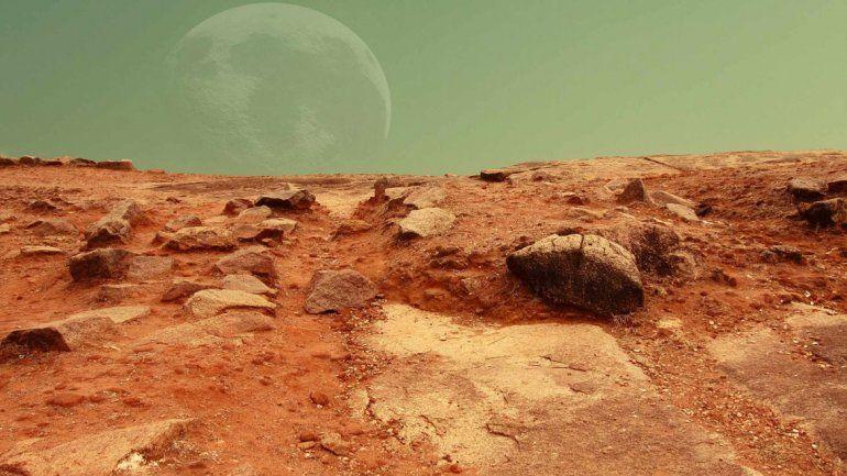 Hallaron fuertes indicios de vida antigua en Marte
