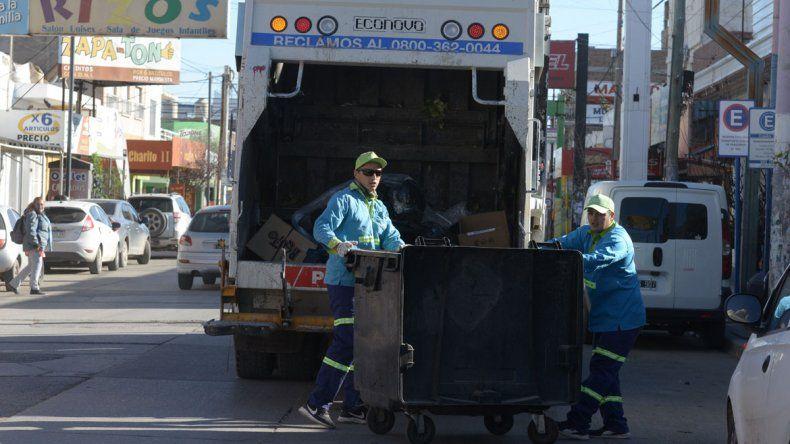 La ciudad se quedó sin recolección de basura por el paro