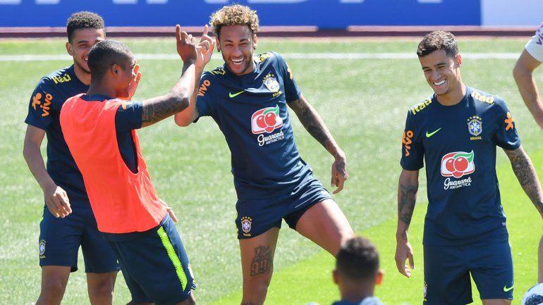 Brasil es favorita y Neymar quiere ser la figura.