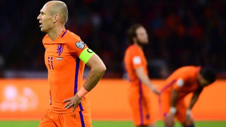 Holanda y Robben