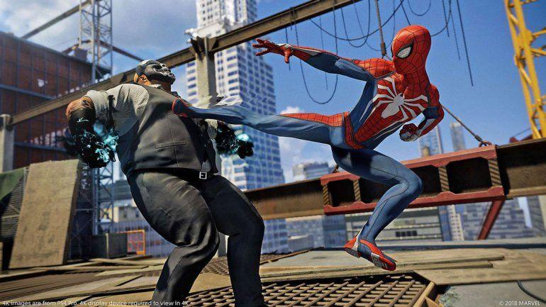 Se confirmó que el 7 de septiembre se lanza el juego de Spiderman.
