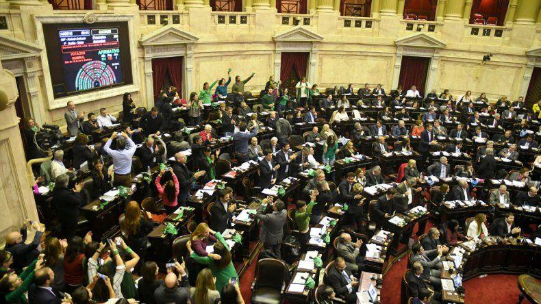 Aborto legal: aprobado en Diputados y va al Senado