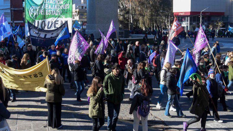 La CTA hizo sentir el paro en las calles de Neuquén