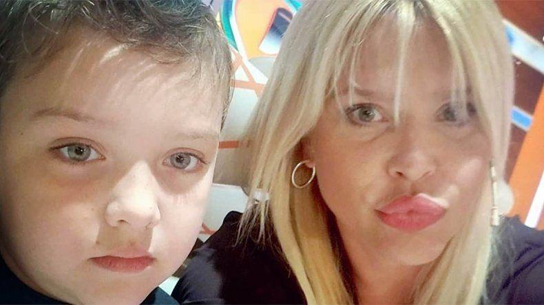 Nazarena denunció que su hijo está perdiendo la visión por mala praxis