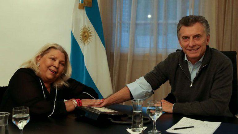 Macri recibió a Carrió para bajar la tensión por el debate sobre el aborto