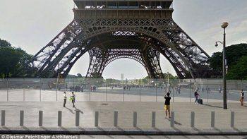 blindan la torre eiffel ante posibles ataques terroristas