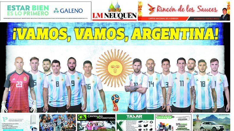 Reclamá tu póster de la Selección Argentina