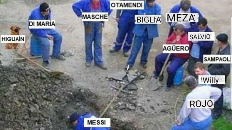 La Selección empató ante Islandia y explotaron los memes