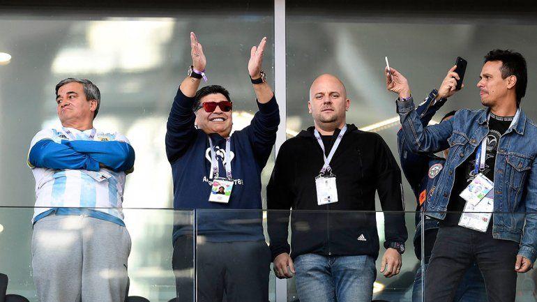 Qué dijo Maradona tras el empate de Argentina ante Islandia