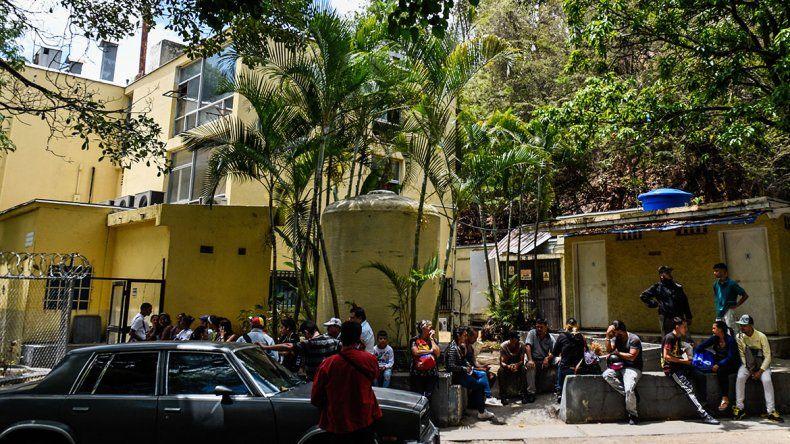 Bomba lacrimógena causó una tragedia en Venezuela