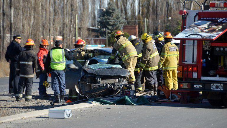 Plottier: un hombre murió tras chocar contra un camión