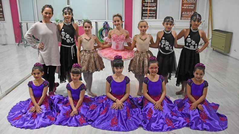 Pequeñas bailarinas de Neuquén llevan su talento a España